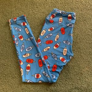 LuLaRoe popsicle leggings